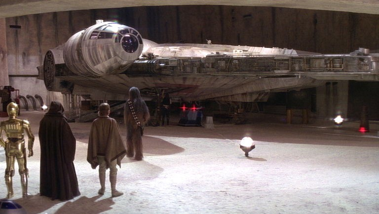 Riffing On Star Wars 6 How The Millennium Falcon Got