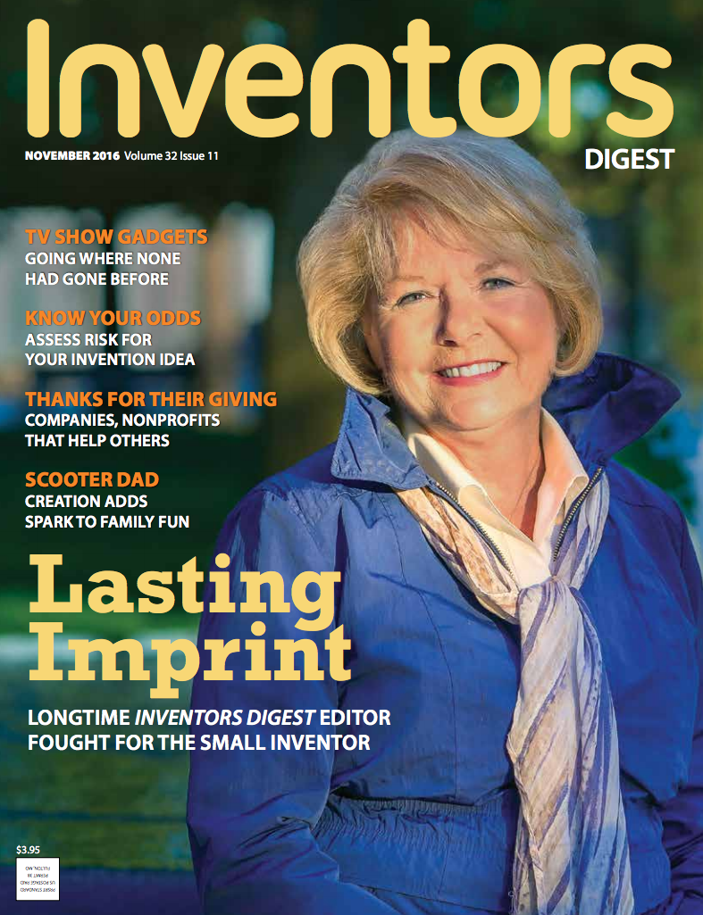 November cover of Inventors Digest