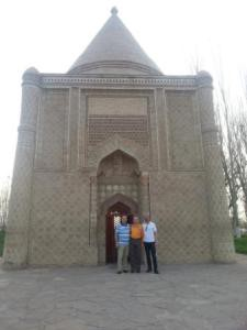 Aisha Bibi monument visited by European President