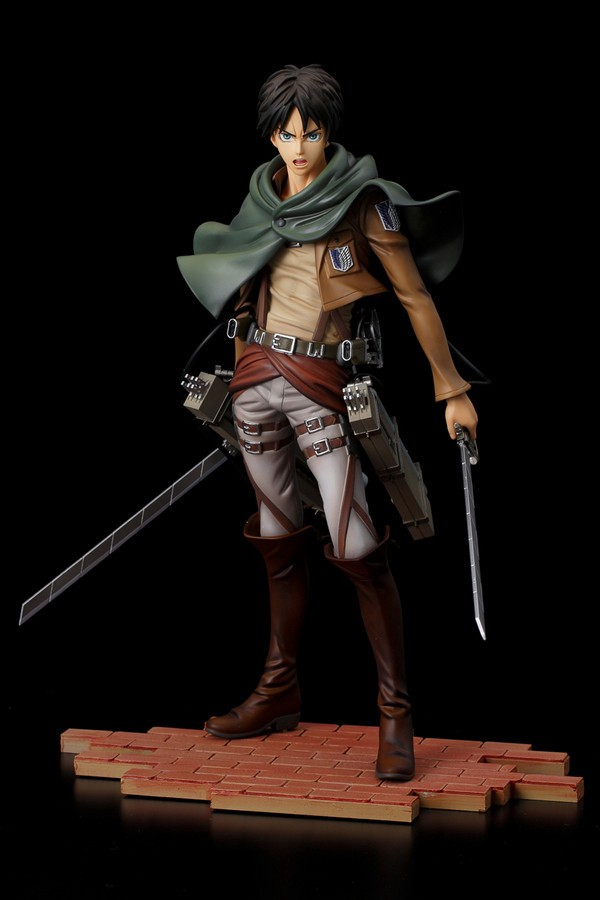 Eren Yeager BRAVE-ACT 1:8 Figure by Sentinel