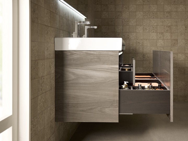Connectivity Is A Key Factor Of This Vanity And The Unique Features Demonstrate Commitment To Comfort Unit Comes In
