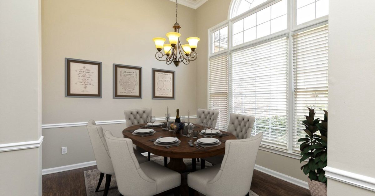 5401 Amity Dr Powder Springs GA Formal Dining Room Staged