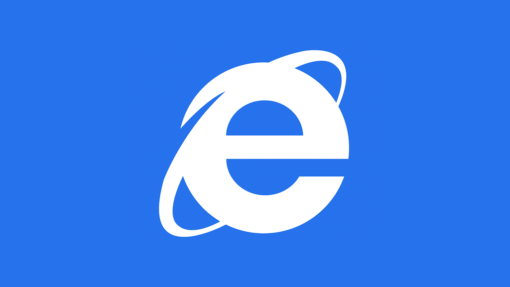 The icon for Microsoft Internet Explorer.