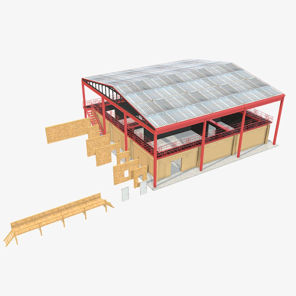 Low poly shoothouse for sale #VR #gamedev #VideoGame #indiedev #lowpoly