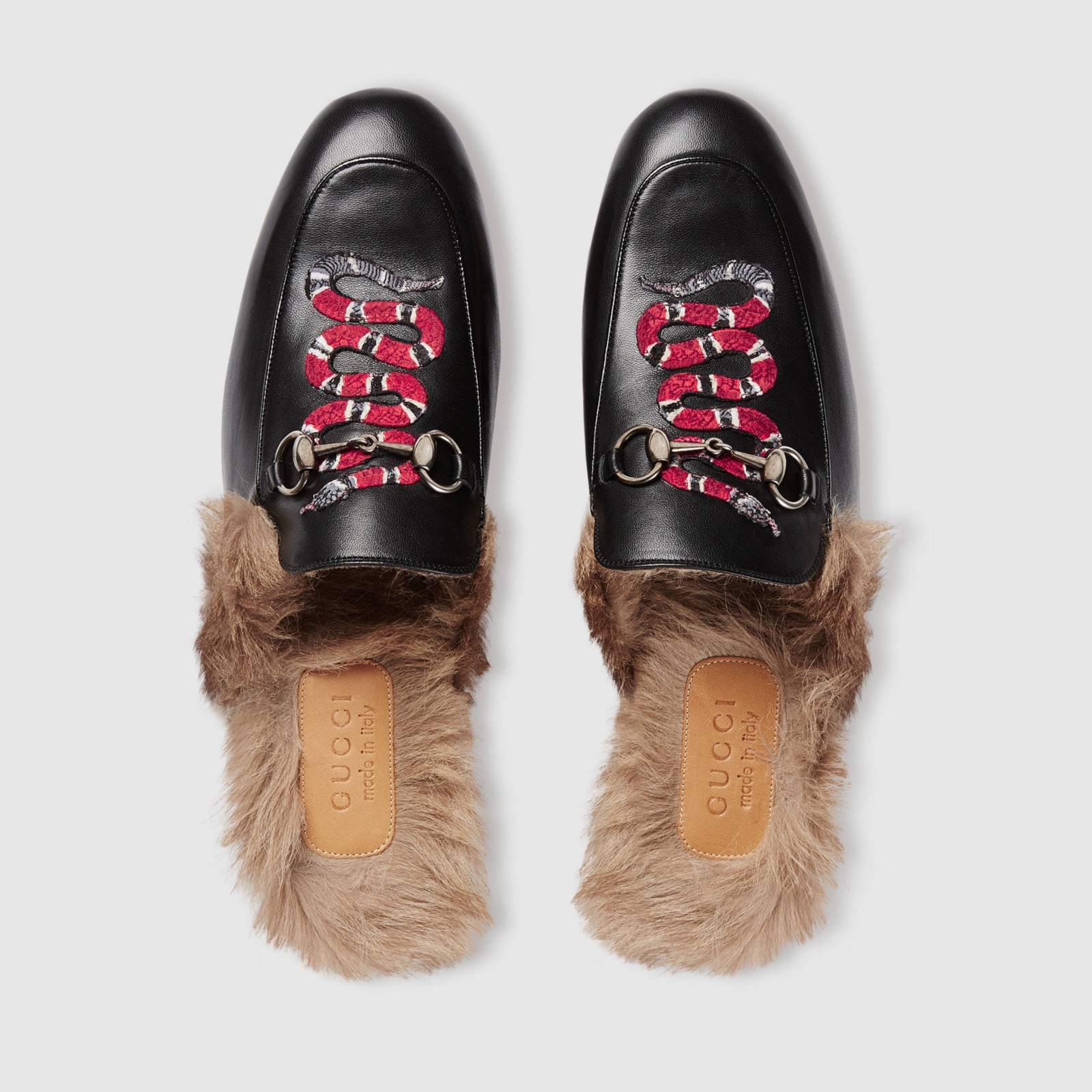 ac49e90adef Review  Gucci Princetown Leather Slipper (with Snake)