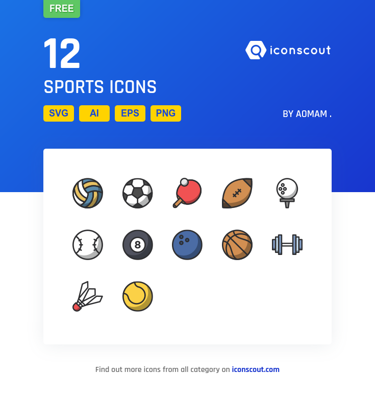 Sports icons by AomAm .