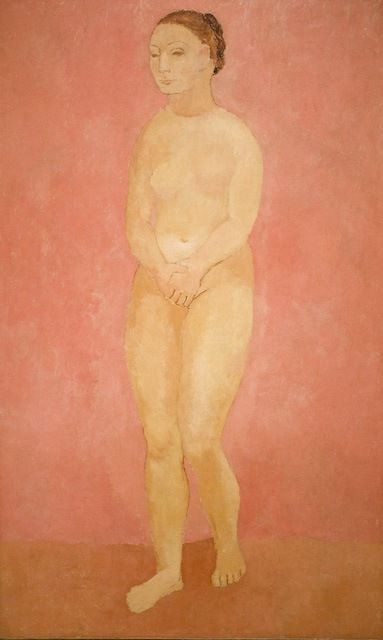 """""""Nude With Joined Hands"""" Pablo Picasso (1906)"""