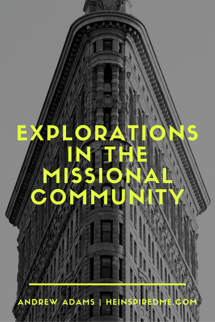 Have you heard of missional communities? Check out these gospel centered, missional minded communities that are redeeming people across the world!