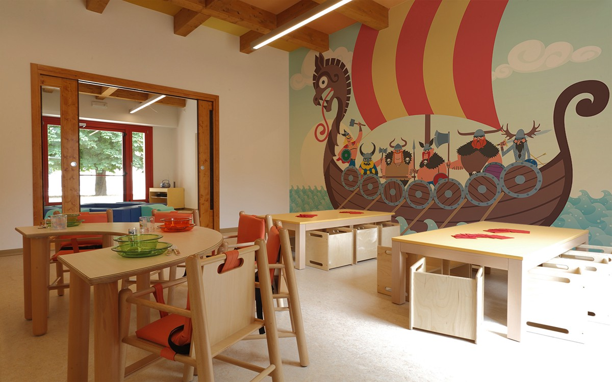 how to design a dream space for a child with pixers the vikings wall mural by pixers