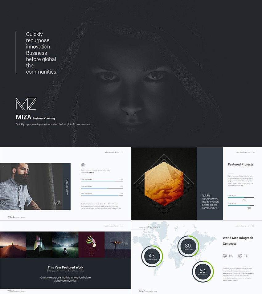 20 best powerpoint templates best digital themes medium this minimal powerpoint template has a clean style mixed with fresh design elements it comes with diagram collections cool textual and image data slides maxwellsz