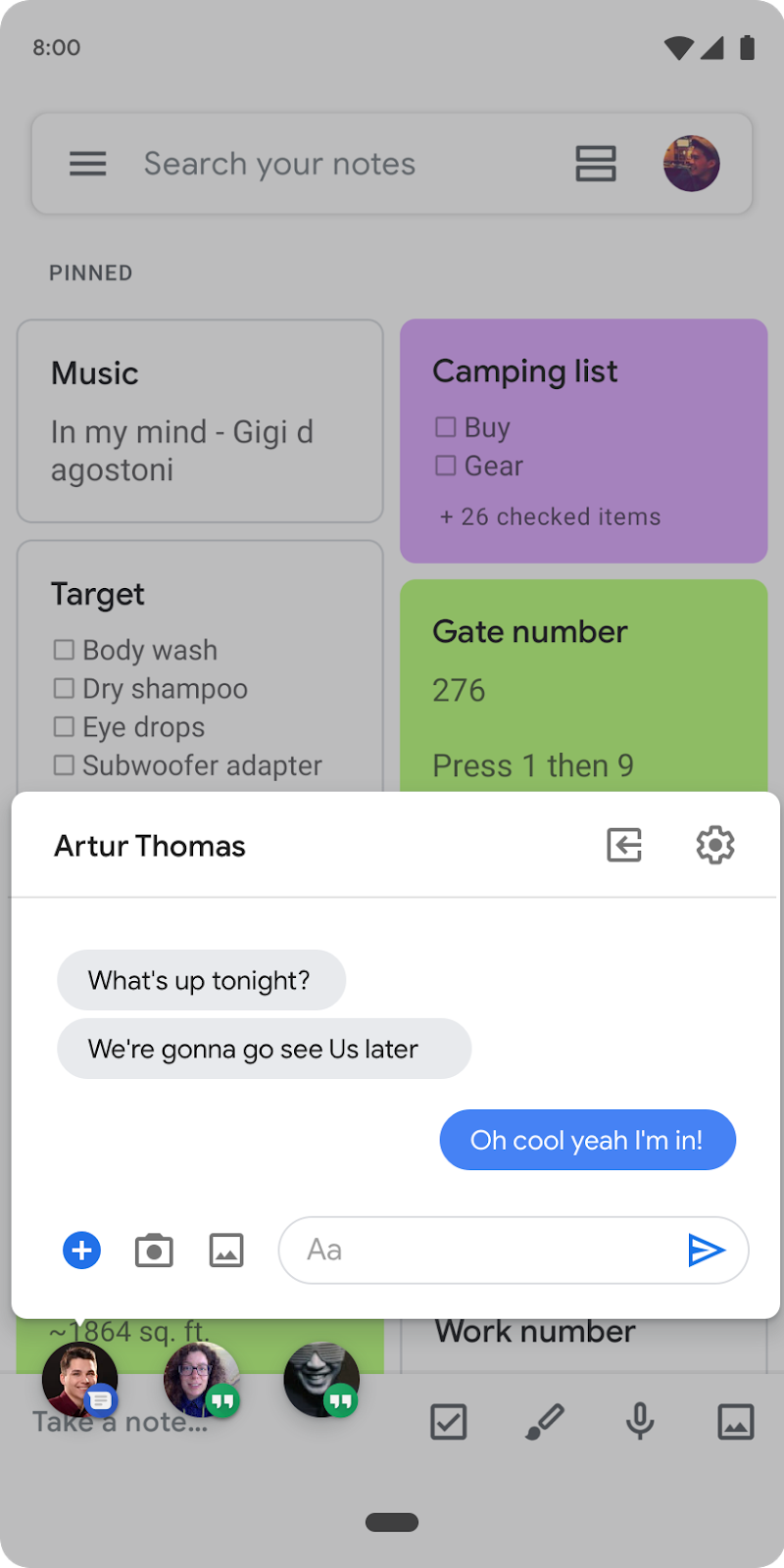 Chat Bubbles in Android 10 Beta 2 - Android Developers Blog