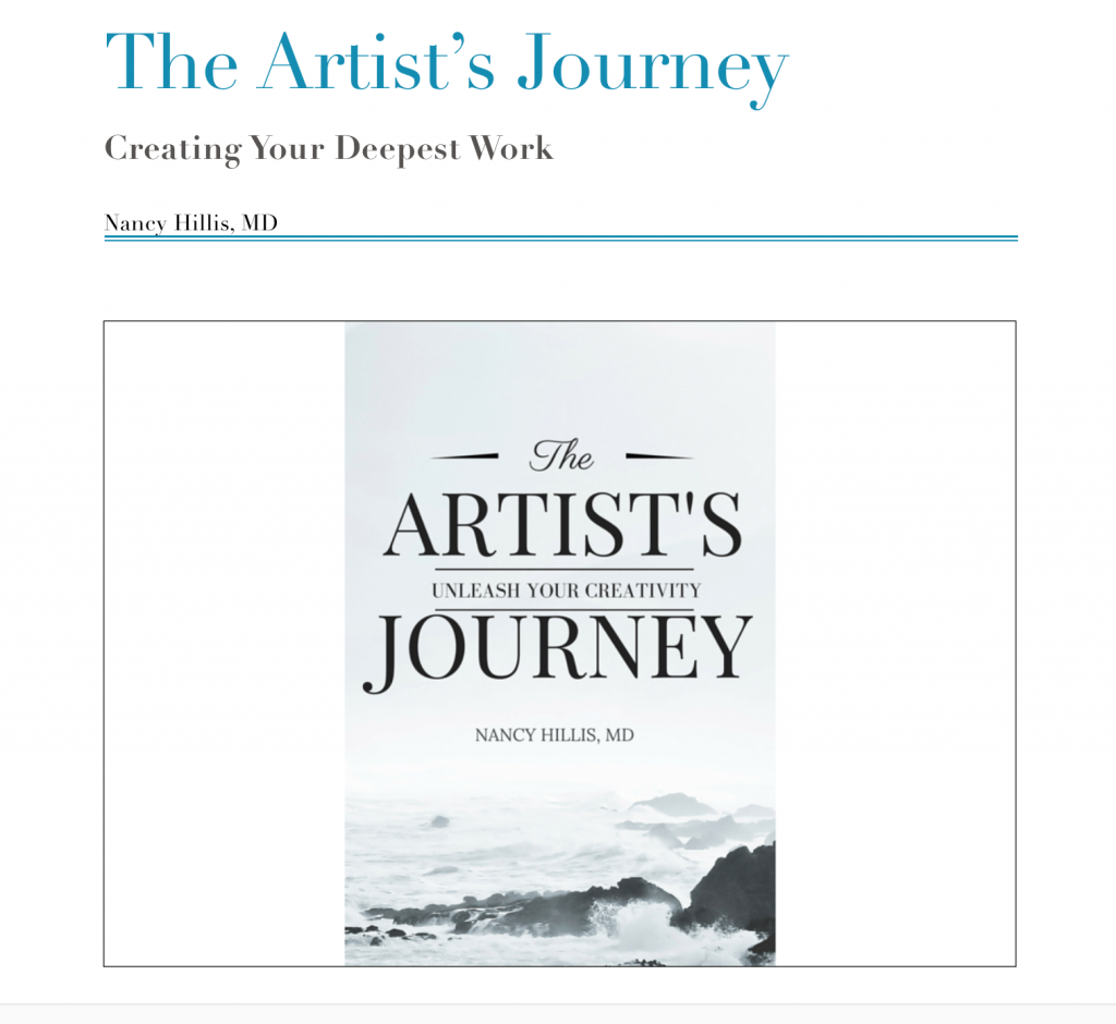 Artist's Journey email course