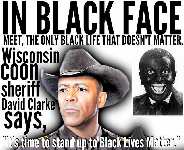 Image result for david clarke blackface