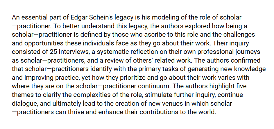 scholar-practitioner model essay Read this full essay on science practitioner model gap research indicates that efforts to the leaky pipeline essay 1211 words - 5 pages thus have an impact on the gender gap in science the scholar-practitioner concept and its implications for self-renewal: a doctoral student's perspective.