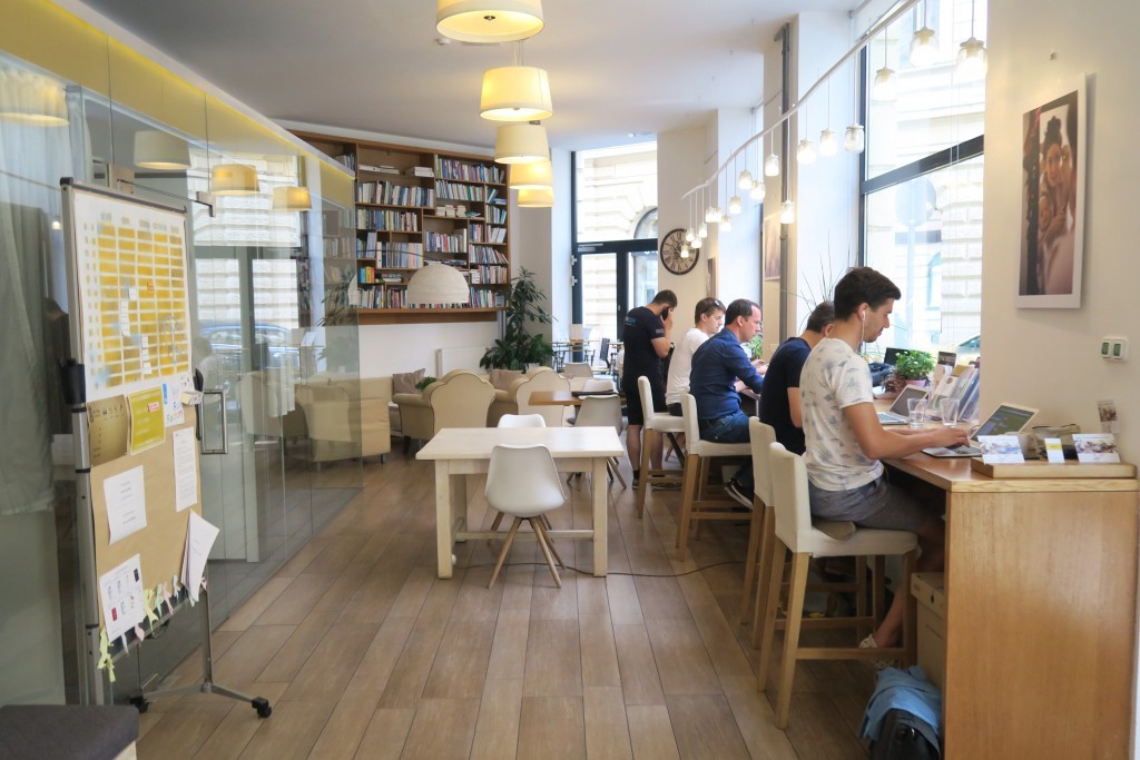 Kaptar Coworking Space Budapest