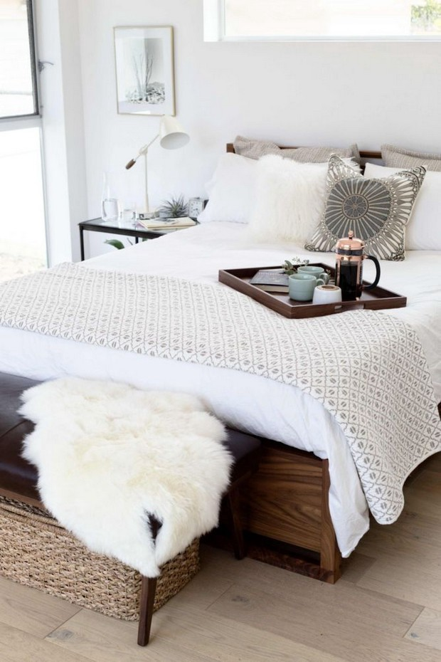 all white white is one of the colors that will help to create a ultimate sleep oasis