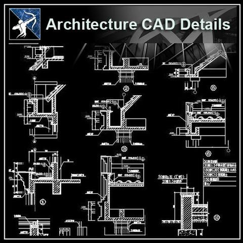 【architecture Cad Drawings】 Cad Blocks Details 3d Models