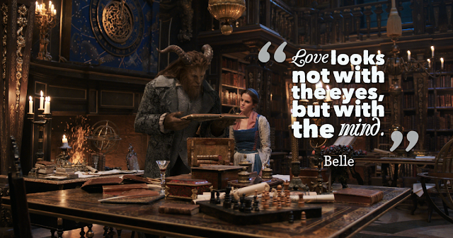 Top 7 Inspirational Quotes From Beauty And The Beast 2017