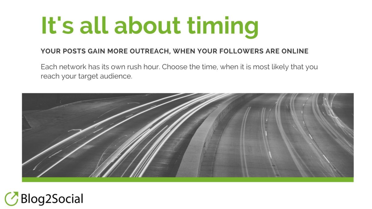 Cross-Promote, Don't Crosspost To Social Media - It's all about timing