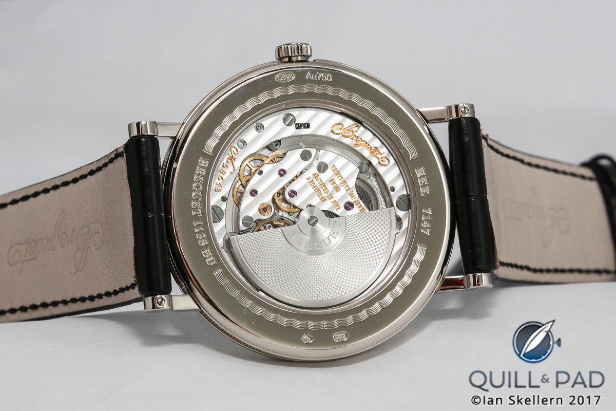 Breguet Caliber 502.3SD powers the Classique Reference 7147