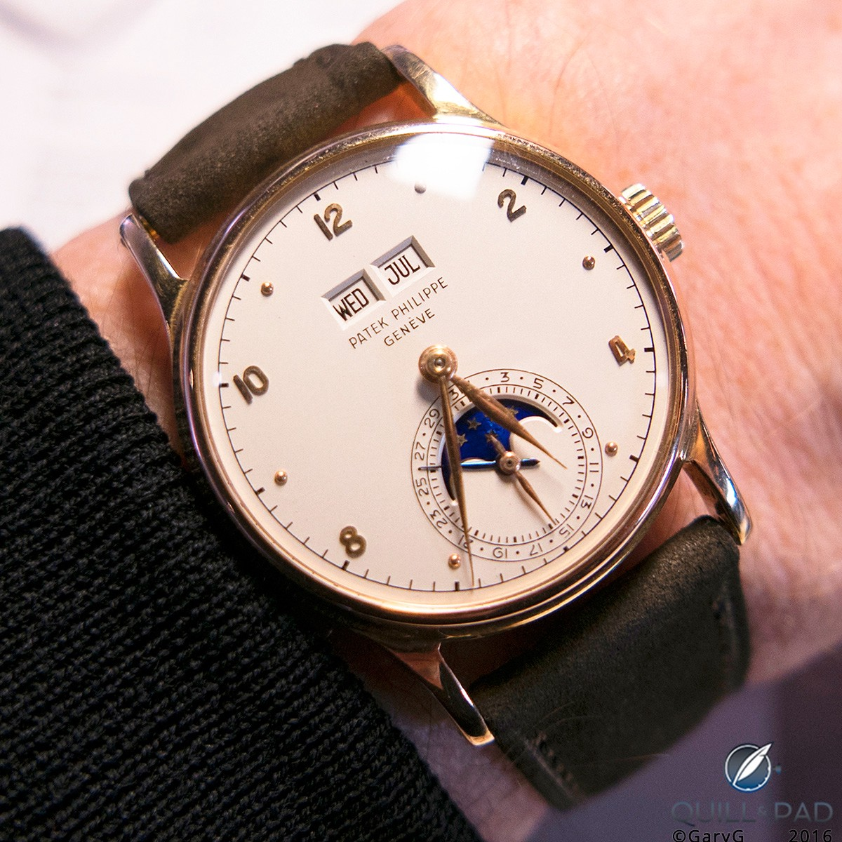 The author's second November auction purchase: Patek Philippe Reference 1526 in pink gold