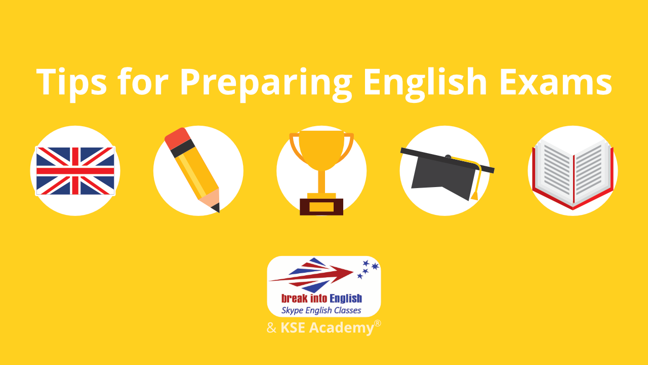 tips for preparing English exams
