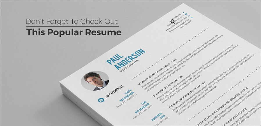 4 dont forget to check out this popular resume template - Ux Designer Resume