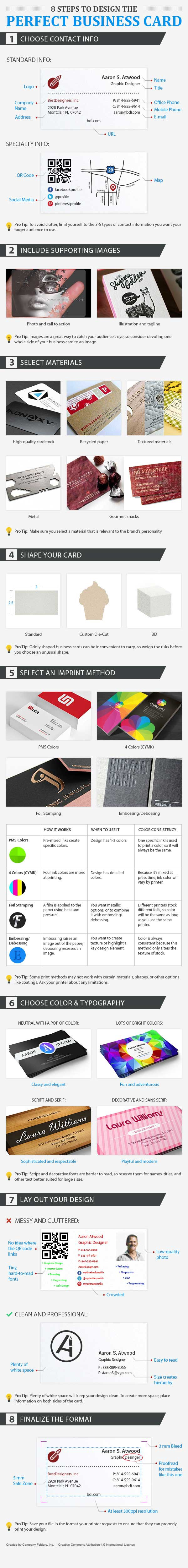 5 top tips for creating business card designs inkbot design medium in addition to a wealth of business card tips this graphic reveals that there are three primary ways to give your card texture colourmoves