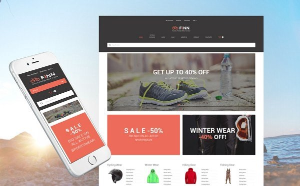 Extreme Sports Store Responsive Shopify Theme