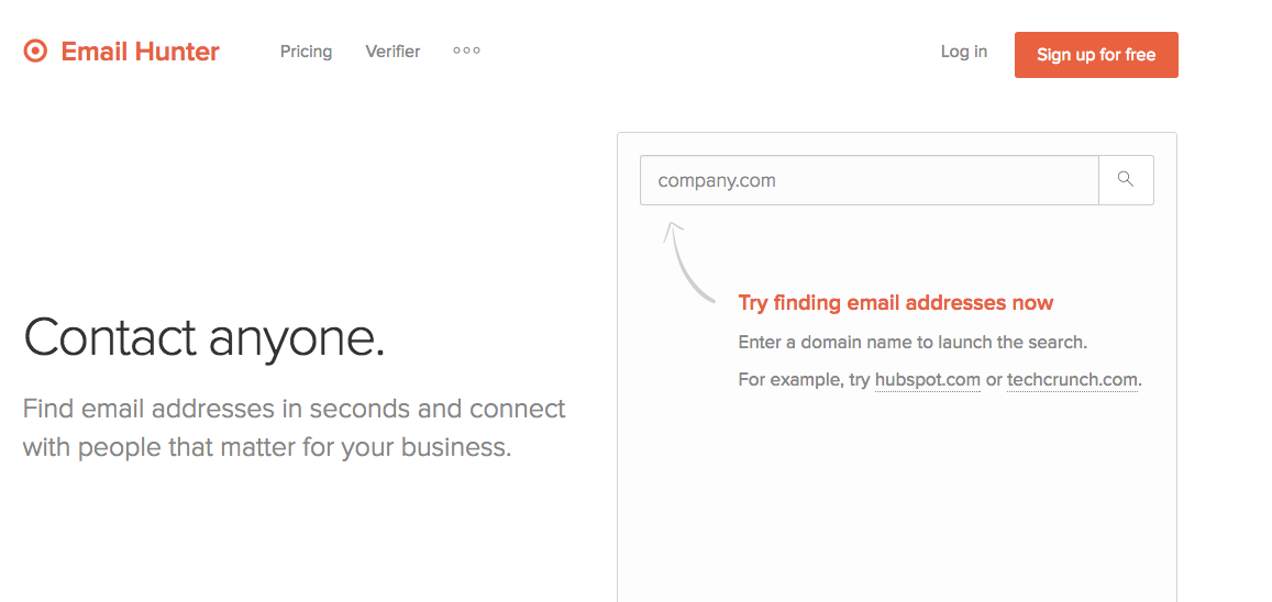 Find anyones email from any website