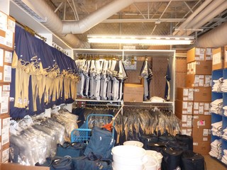 Here Is Just One Area Of Tonys Equipment Room At Maryvale Baseball Park