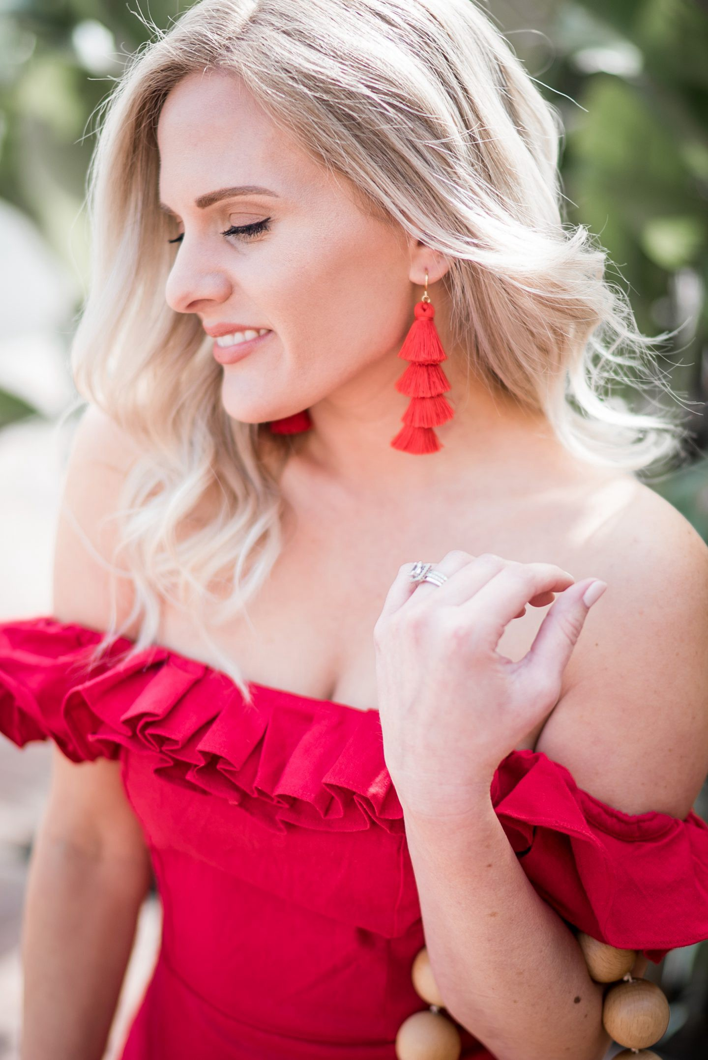 A Stylish Vacation Date Night Outfit by popular Orange County fashion blogger Dress Me Blonde