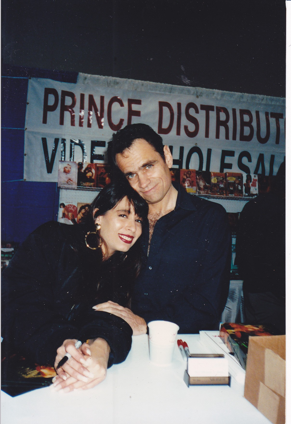 Rick with Christy Canyon