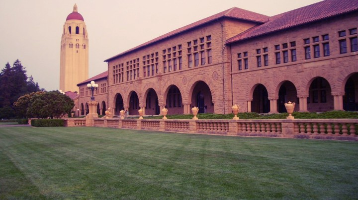 The Stanford campus