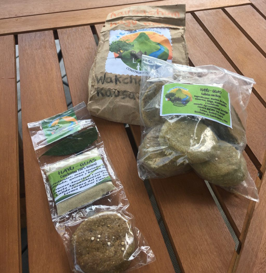 Coca flour cookies and other Lerma souvenirs