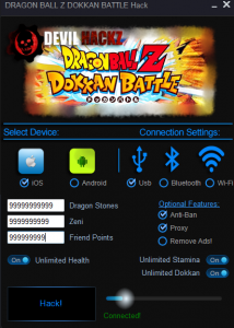 dragon ball z dokkan battle hack apk