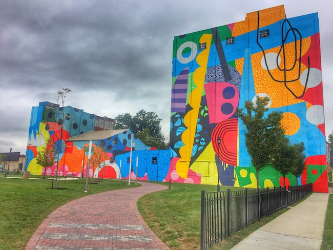 Mural of Unusual Size Hagerstown Maryland