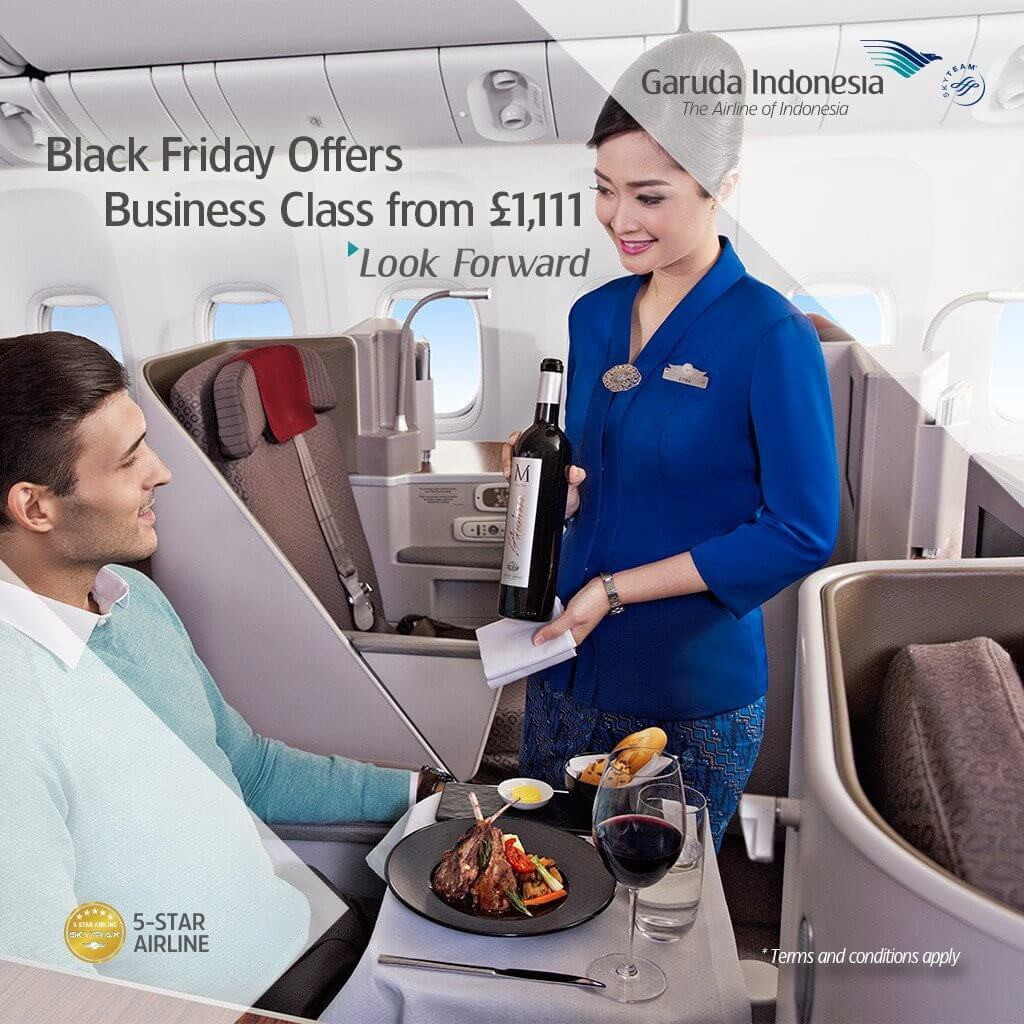 Black Friday Advertorial Campaign from Garuda Indonesia Airlines. Photo Courtesy Garuda Indonesia.