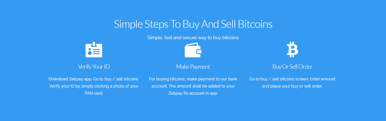 Bitcoin for beginners zebpay blog data on bitcoin valuation in the country there is a kyc requirement and you will need to verify your id by simply clicking a photo of your pan card ccuart Choice Image