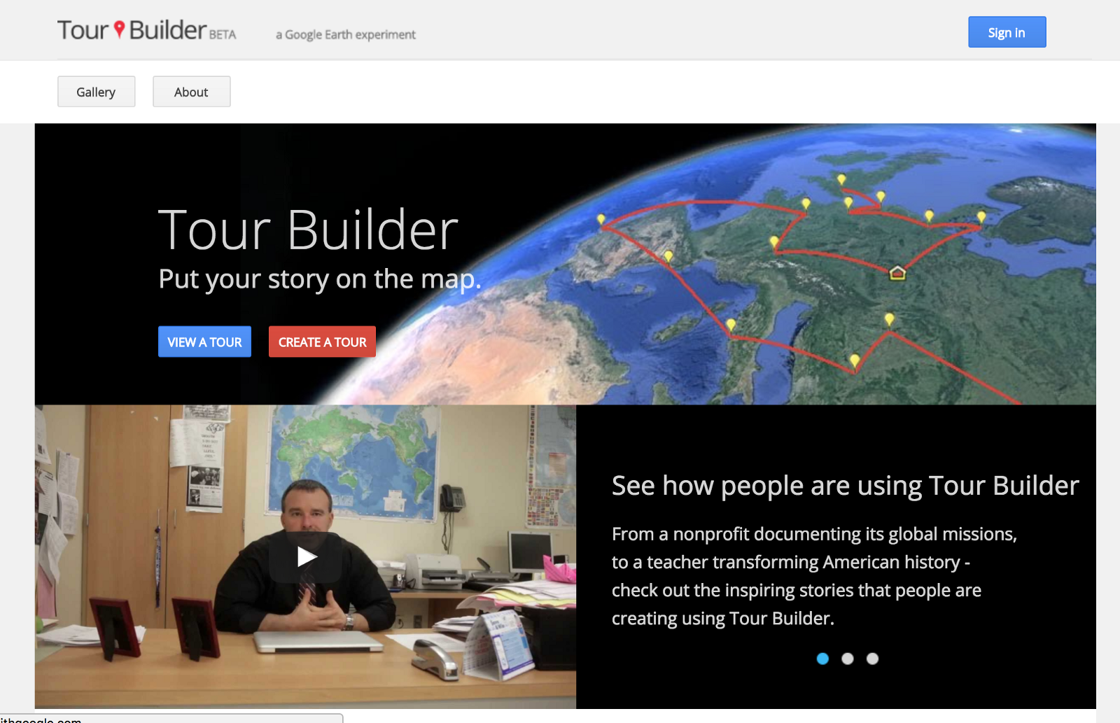 The 6 best map apps for students steven sutantro medium put meaningful story on each location with google tour builder at first you might think it has the same function with my maps yet it actually bring much gumiabroncs Choice Image