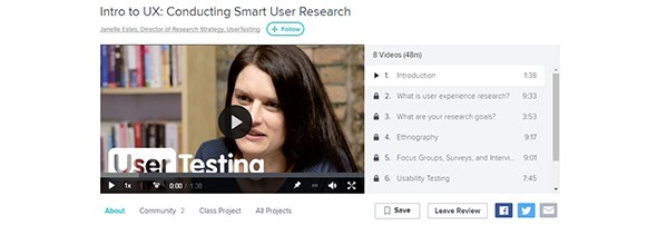 Conducting Smart User Research