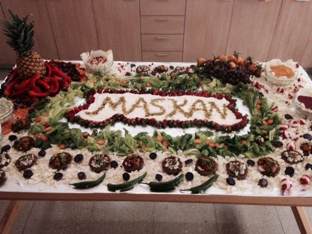 Maskan Project Launch and Cocktail, January 24, 2015, Beirut.