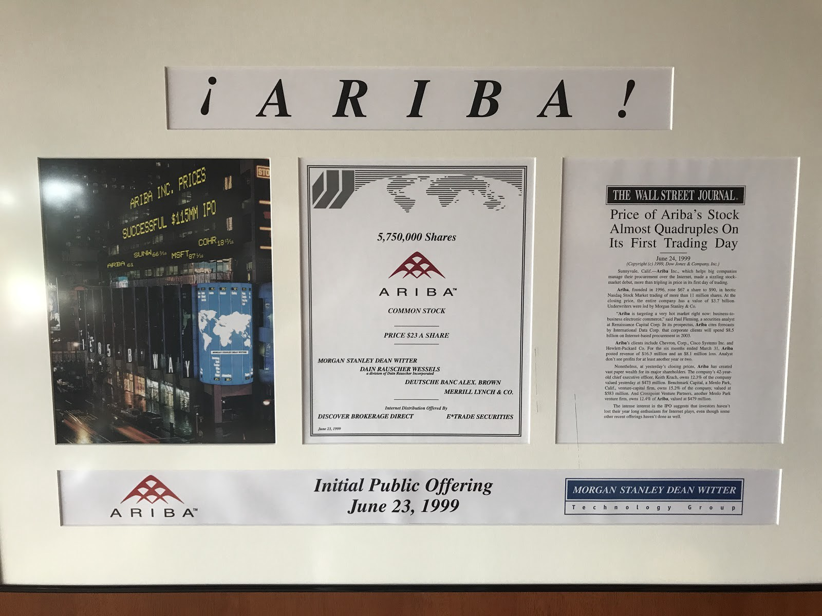 The ariba legacy built to last keith krach medium we just celebrated the 20th anniversary of aribas founding last year and 18 years ago today we took the company public i dont often sit back and reflect biocorpaavc Image collections