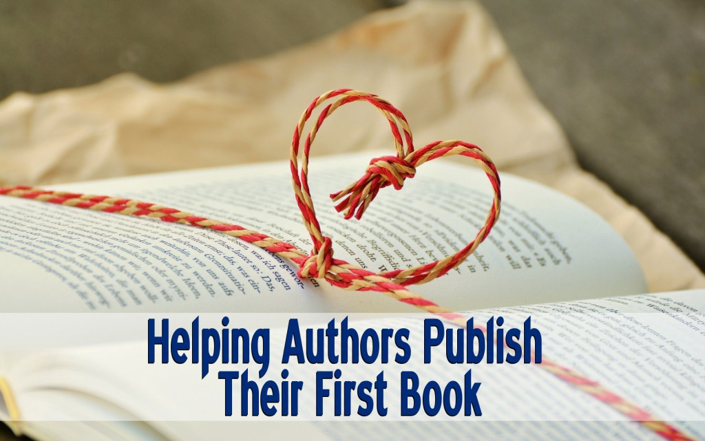 Helping Authors Publish Their First Book
