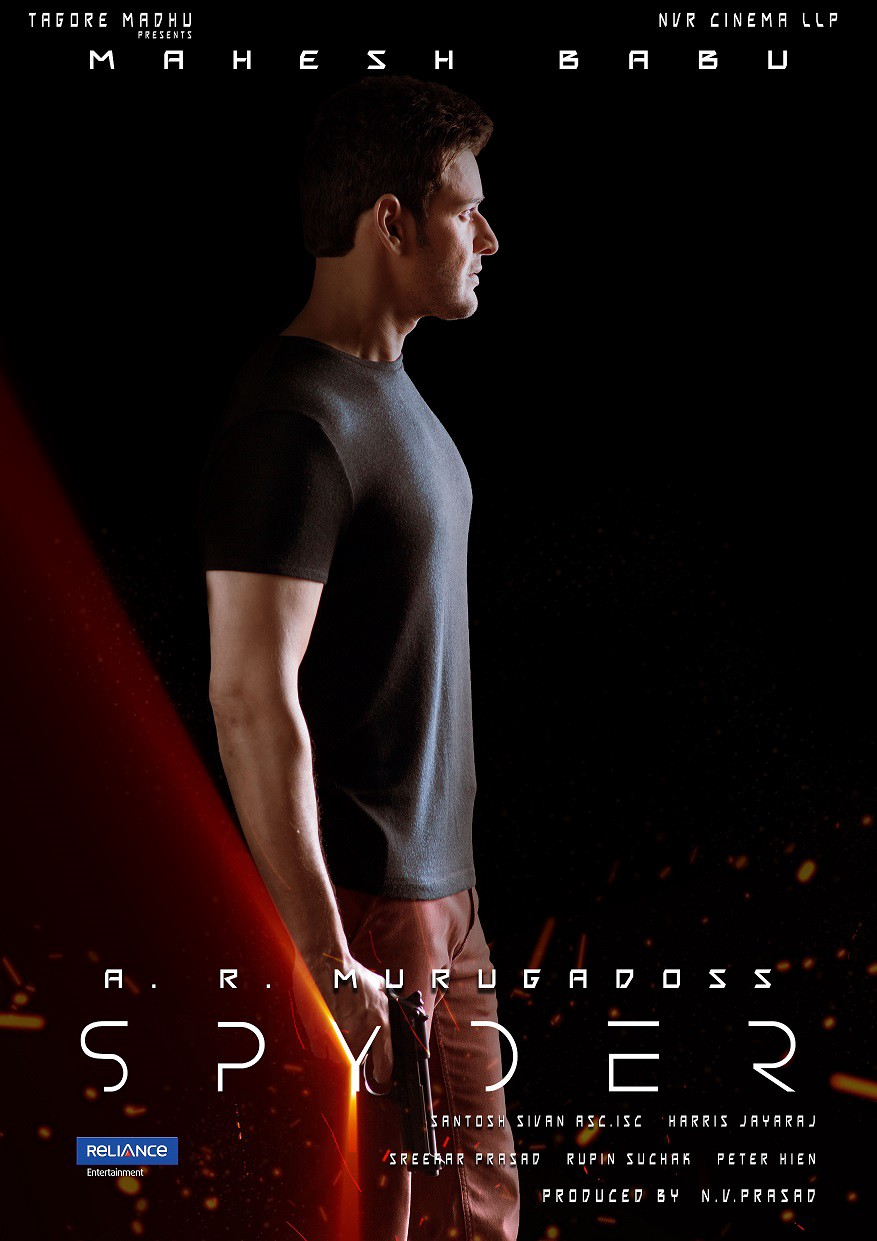 Spyder Movie First Look Posters