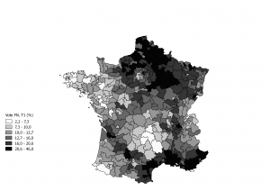 Elections in Europe: a map of france