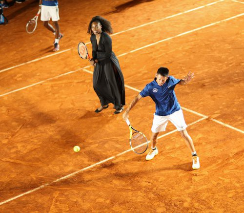 serena-and-novak-play-an-exhibition-at-patrick-mouratoglou-tennis-academy