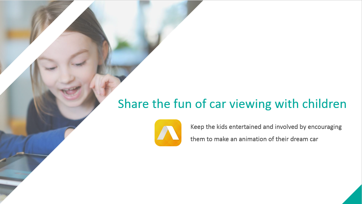 Share the fun of car viewing with children