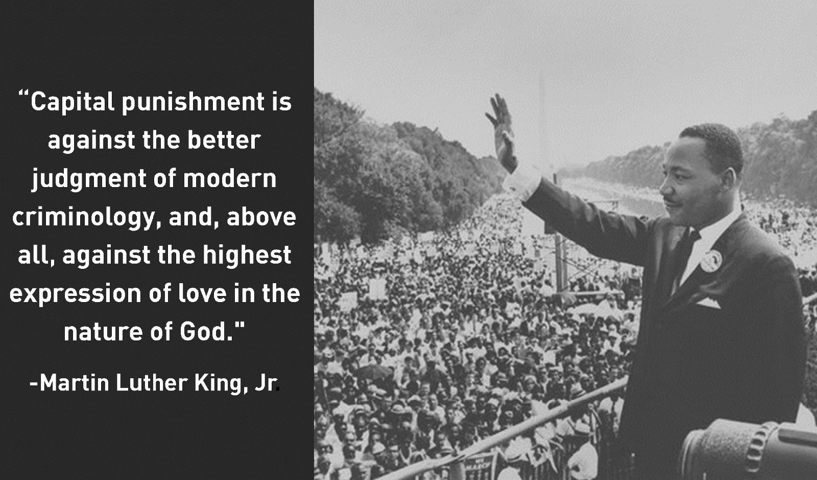 Image result for capital punishment quotes martin luther king jr