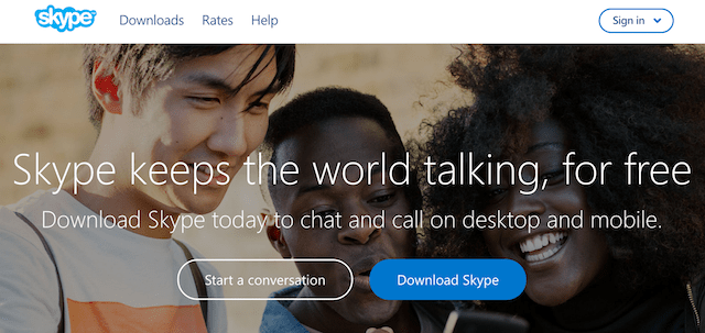 Productivity Apps For Business Skype
